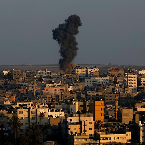 IDF airstrike during Operation Protective Edge (Photo: AP)