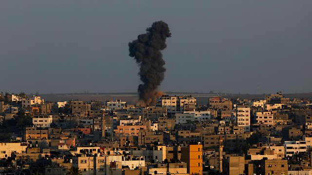 IDF strikes on northern Gaza (Photo: AP)
