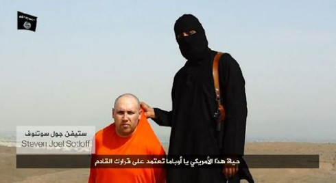 Steven Sotloff is being held hostage by the Islamic State militants