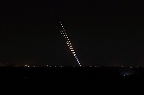 Rockets being fired at Israel from the Gaza Strip during Operation Protective Edge in 2014. (Photo: Archive/AFP) (Photo: AFP)