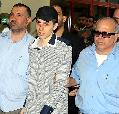 Gilad Shalit's release (Photo: EPA)