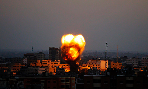 IAF strike in Gaza Strip (Photo: EPA)