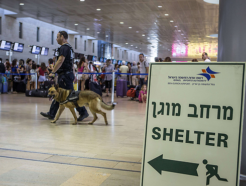 Ben Gurion Airport (Photo: AFP)