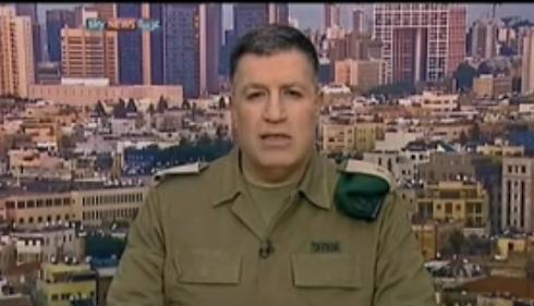 """האלוף מרדכי: """"חמאס השתלט בכוח על חומרי הבנייה שהועברו לשיקום הרצועה"""" ()"""