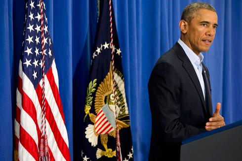 לא משלם כופר לארגוני טרור. אובמה (צילום: AP) (צילום: AP)