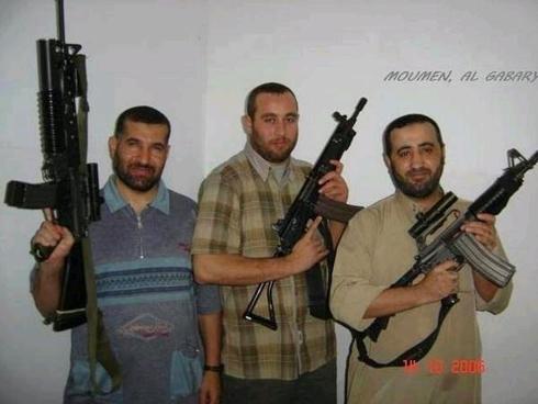 """אבו שמאלה, אל-עטאר ואחמד ג'עברי שחוסל ב""""עמוד ענן"""" ()"""