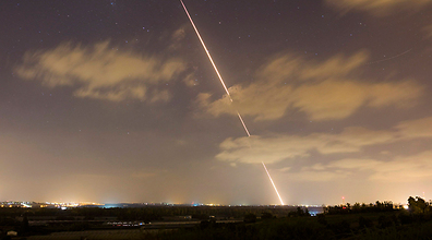 Rocket launched from the Gaza Strip at Israel (Archive Photo: Reuters)