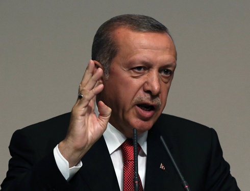 Erdogan announces Turkey's next Prime Minister. (Photo: AP) (Photo: AP)