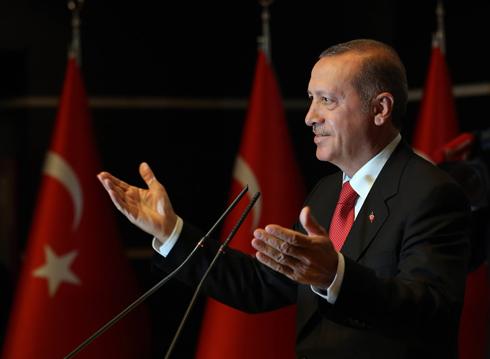 הכיר את דבוטאולו כשהיה ראש העיר איסטנבול. ארדואן (צילום: AP) (צילום: AP)