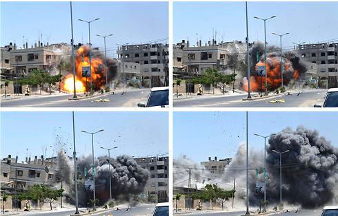 IAF strike in Gaza (Photo: Reuters)