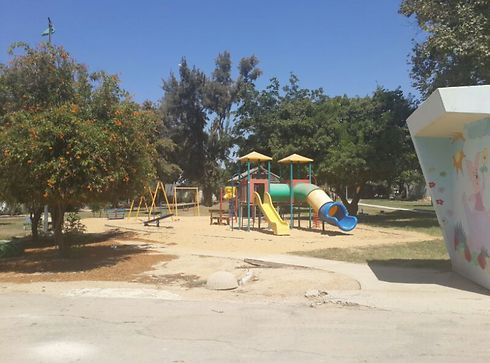 Kibbutz Nahal Oz abandoned after residents decided to evacuate before being told to (Photo: Itay Blumental)
