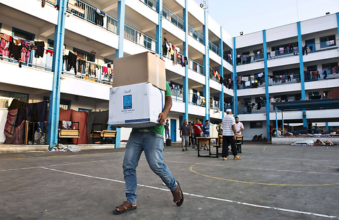 An UNRWA facility. Israel said it now supported gradual defunding of the agency (Photo: AFP)