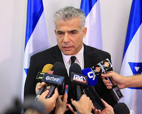 Finance Minister Yair Lapid (Photo: Yaron Brenner) (Photo: Yaron Brener)