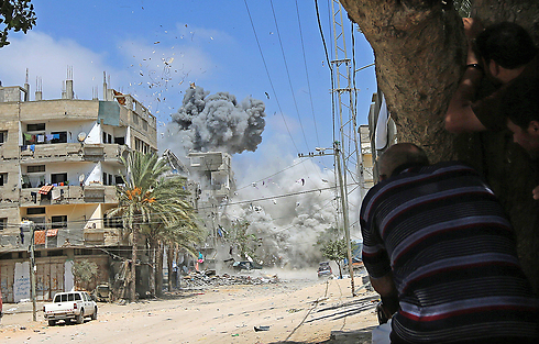 The IDF may carry out another Gaza operation, but things will eventually return to the status quo as it will pull out when it concludes (Photo: EPA)