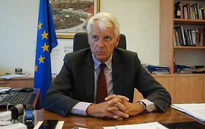 Ambassador Lars Faaborg-Andersen (Photo: The Media Line Photos/Dudi Saad) (Photo: The Media Line Photos/Dudi Saad)