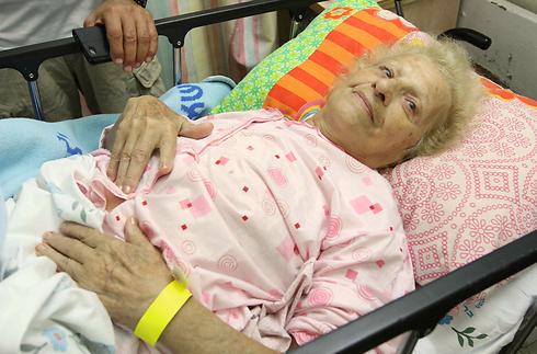 Clementine Nakesh, 92, left France because of rising anti-Semitism (Photo: Ido Erez)