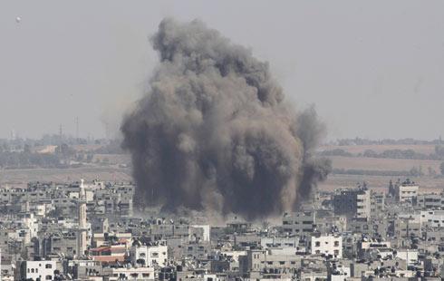 IDF hit over 3,000 targets (Photo: Reuters) (Photo: Reuters)