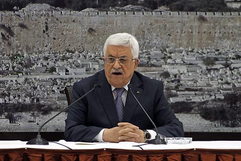Palestinian President Mahmoud Abbas in Ramallah. (Photo: EPA) (Photo: EPA)