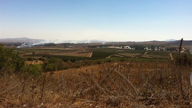 Fighting not far from Israeli border (Photo: Josh Bakon)