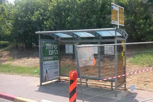ישראל, 2014. תחנת אוטובוס מודרנית (לרה פארן)