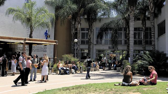"""מכללת ספיר. בתש""""ח היו רק 2 מוסדות להשכלה גבוהה (צילום: צפריר אביוב)"""