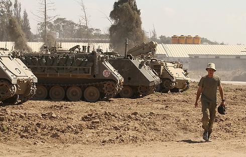 IDF forces on Gaza border (Photo: Ido Erez) (Photo: Ido Erez)