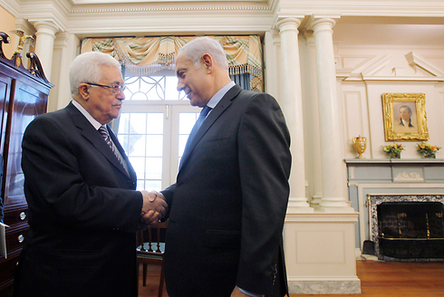Netanyahu with Abbas at White House (2010) (Photo: Gettyimages)