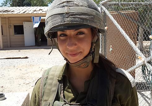 Second Lieutenant Shir Menashe. (Photo: Yoav Zitun) (Photo: Yoav Zitun)
