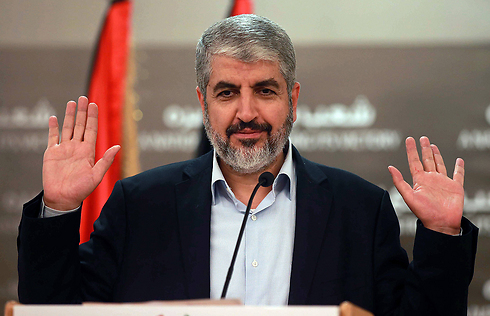 Hamas' political leader Khaled Mashaal seems unprepared to meet Abbas' demands for reconciliation. (Photo: AFP) (Photo: AFP)