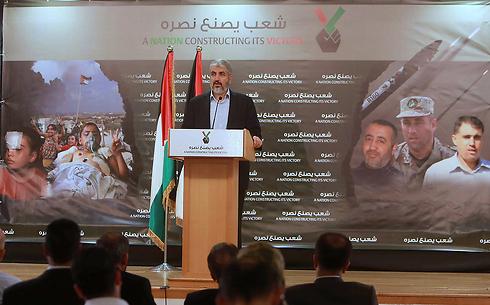 חאלד משעל. חמאס יחדש את הירי? (צילום: AFP) (צילום: AFP)