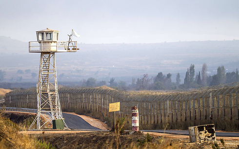 Deserted UNDOF post on Golan Heights (Photo: AFP) (Photo: AFP)