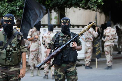 Archive: Islamic Jihad fighters in Gaza (Photo: Reuters) (Photo: Reuters)