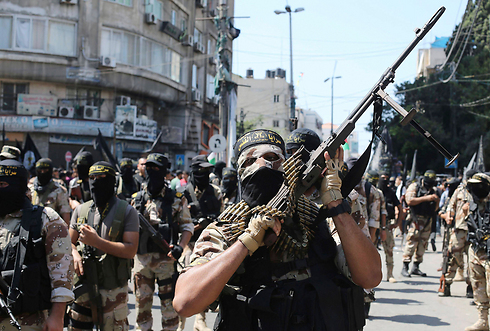File photo. Hamas and Palestinian Islamic Jihad accepted joint responsibility for Tuesday's salvo (Photo: Reuters)