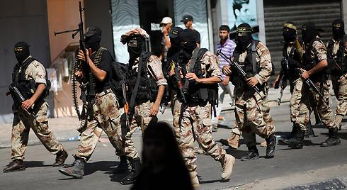 Islamic Jihad fighters in Gaza (Photo: EPA)