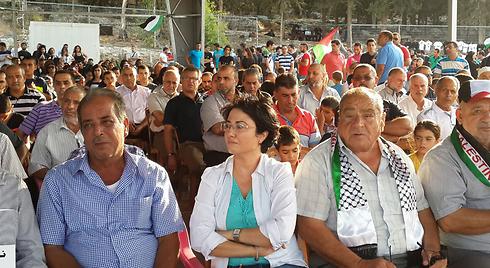 Haneen Zoabi at the pro-Palestinian festival. (Photo: Hassan Shaalan) (Photo: Hassan Shaalan)