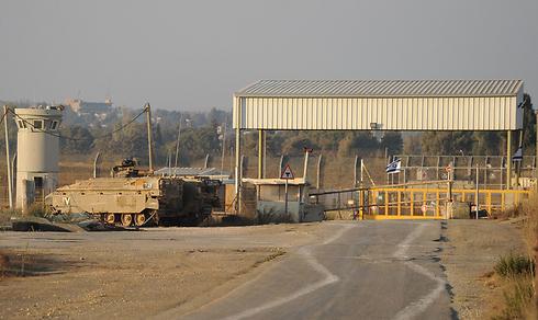 The Quneitra border crossing (Photo: Efi Shrir)