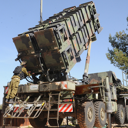 Patriot missile battery. (Photo: Avihu Shapira)