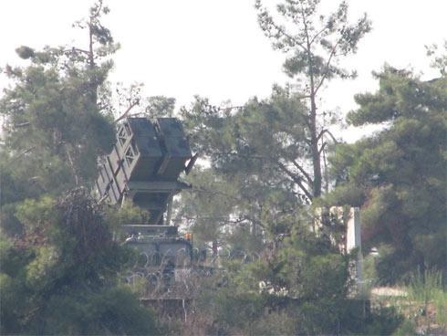 סוללת פטריוט, היום בצפון (צילום: עזריאל צונג) (צילום: עזריאל צונג)