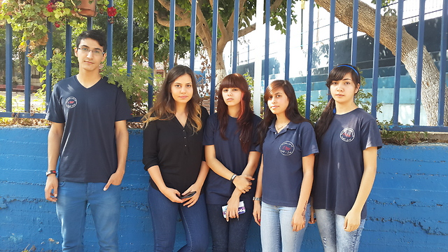 Students at Amal high school (Photo: George Ginsburg)