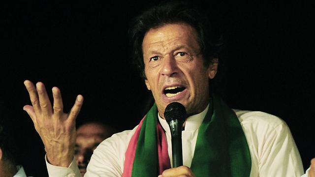 Cricketer-turned-politician Imran Khan (Photo: AFP)