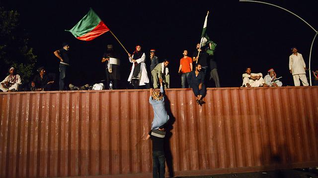 Pakistani protesters (Photo: AFP)