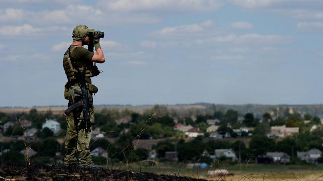 זיכרונות מסבסטופול. פרברי מריופול באוקראינה (צילום: AFP) (צילום: AFP)