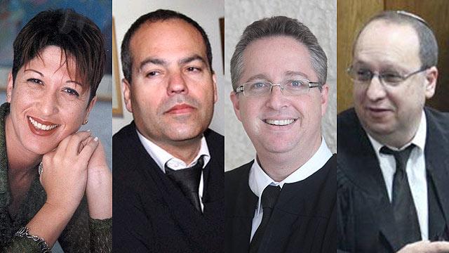 עורכי הדין פלישמן, זילברשלג, קינן ואלוני סדובניק (צילום: אורית אלון, מוטי קמחי) (צילום: אורית אלון, מוטי קמחי)