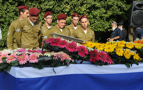 Funeral of Staff Sgt. Shachar Shalev (Photo: Avihu Shapira)