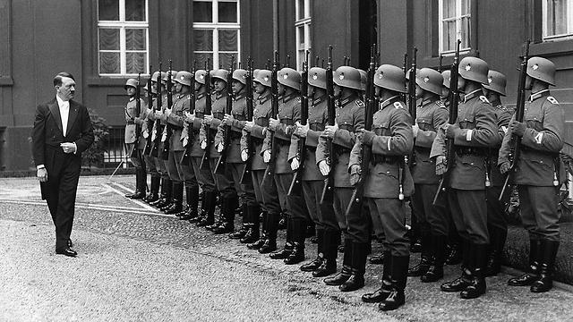 רצה לשלוט ביבשת האירופית. היטלר (צילום: gettyimages) (צילום: gettyimages)