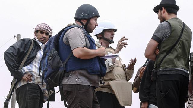 Journaliste Steven Sotloff in Iraq (Photo: Getty Images)