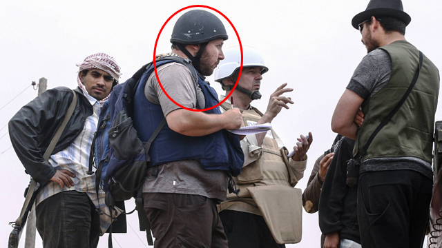 Sotloff in Syria (Photo: Gettyimages)