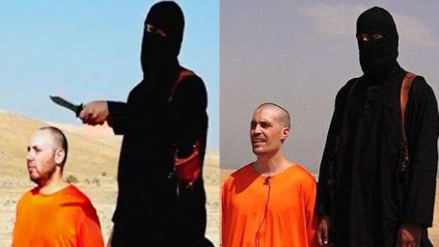 פעילי דאעש מוציאים להורג עיתונאים               ()