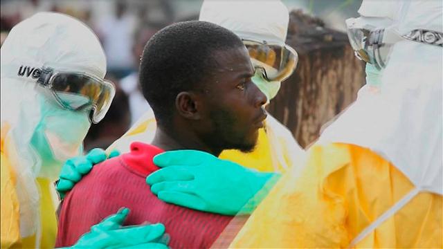 חולה אבולה בליבריה (צילום: רויטרס) (צילום: רויטרס)
