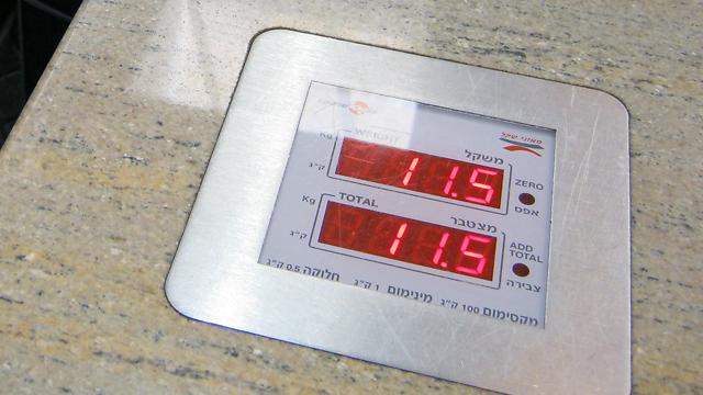 """הפיצוי עד משקל 20 ק""""ג (צילום: יואב זיתון)"""